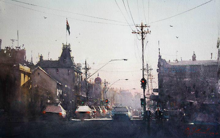 Художник-акварелист Joseph Branko Zbukvic. Акварель третья