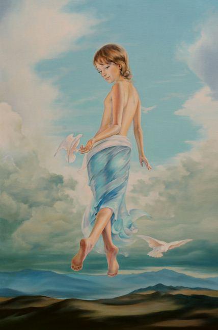 Художница Светненко Наталия. Прикосновение мечты. 40х60 холст масло