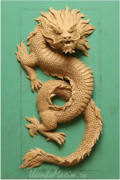 Изготовление деревянной скульптуры. Пластилиновый макет