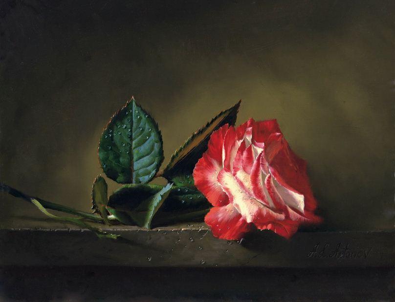 Натюрморт маслом Алексея Антонова. Картина десятая