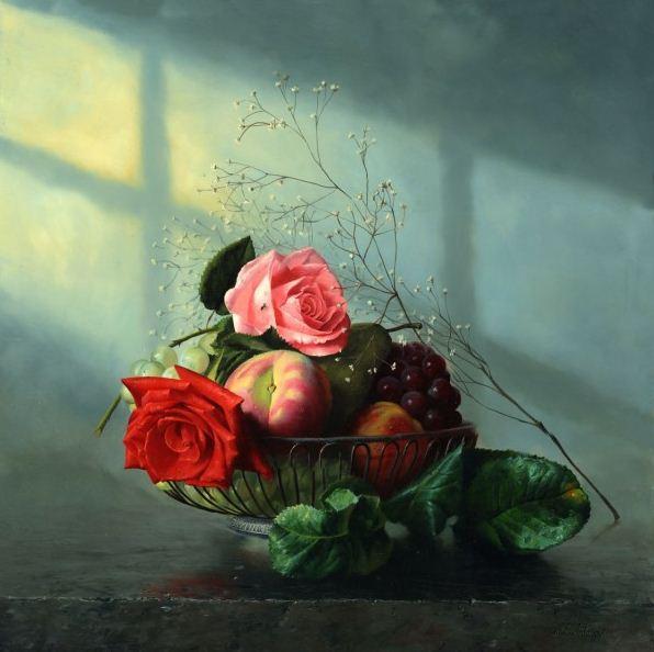 Натюрморт маслом Алексея Антонова. Картина двенадцатая