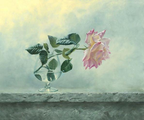 Натюрморт маслом Алексея Антонова. Картина одинадцатая