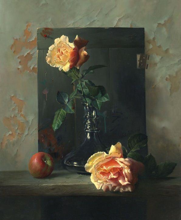 Натюрморт маслом Алексея Антонова. Картина шестая
