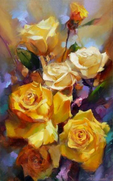 Шалаев Алексей. Желтые розы