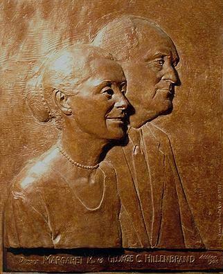 Скульптор Zenos Frudakis. Господин и госпожа Хиллебранд
