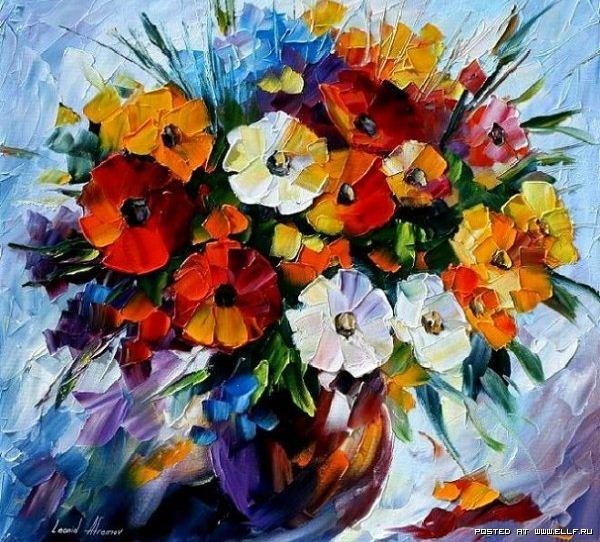 I-ewe-raz-cvety-Zhivopis'-mastihinom-Leonid-Afremov