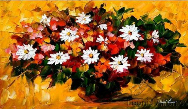 Cvety-Zhivopis'-mastihinom-Leonid-Afremov