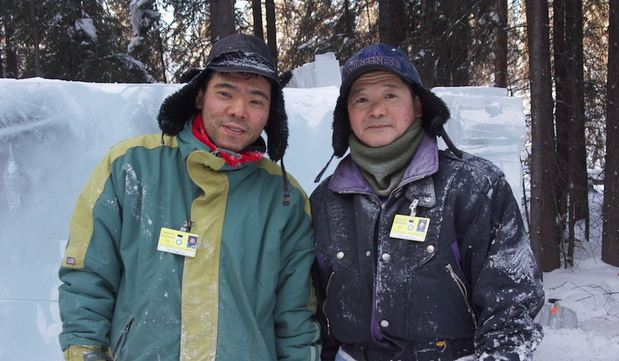 Аляска 2012. 10 место. Mahoe  Satoru и Sueyoshi  Takahiro