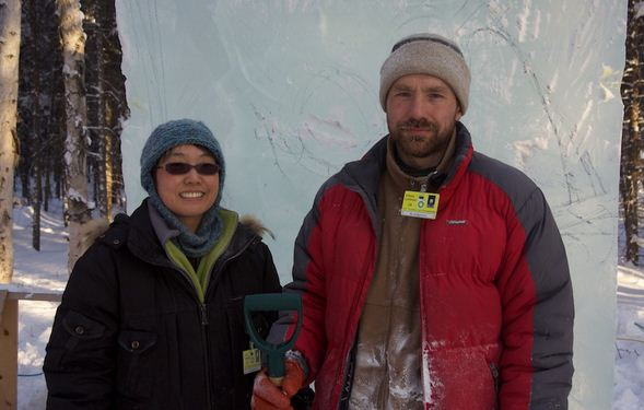 Аляска 2012. 3 место. Леднев Виталий и Yanagida Junko