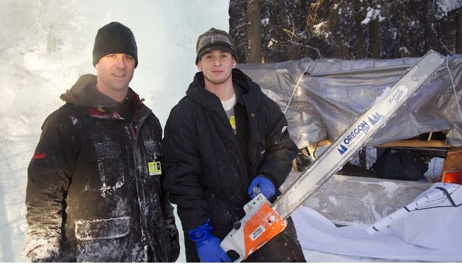 Аляска 2012. 6 место. Foltz Chris и Moore Zach