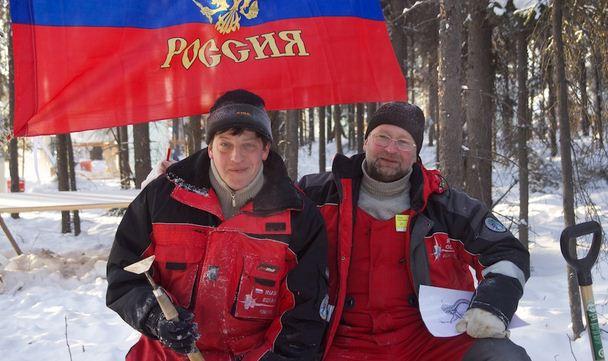 Аляска 2012. 7 место. Клавдеев Олег и Полин Вадим