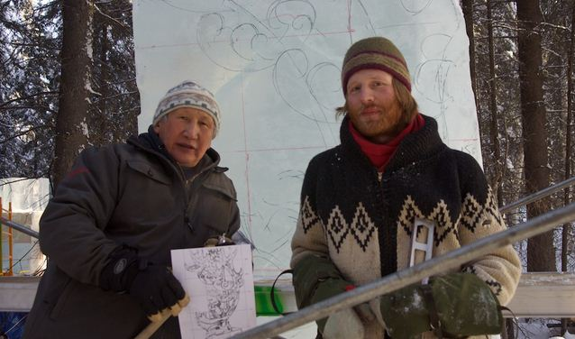 Аляска 2012. 9 место. Федор Марков и Miller  Odin