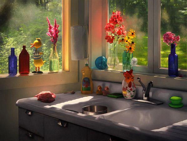 Amerikanskiy-hudozhnik-Scott-Prior.-Natyurmort-Summer-Cabin-Kitchen