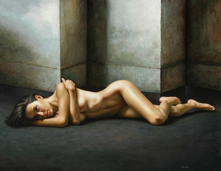 Художник Omar Ortiz. Масляный гиперреализм. Картина 140х180 холст масло