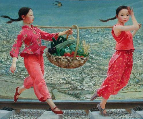 Hudozhnik-Wang-Yiguang.-Kartina-chetyirnadtsataya