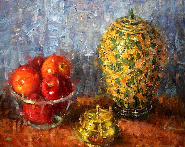 Impressionizm-E.J.Paprocki.-Kartina-Oriental-Drama.-20h24-dyuyma-holst-maslo