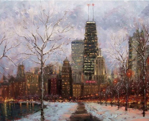Impressionizm-E.J.Paprocki.-Kartina-shestnadtsataya