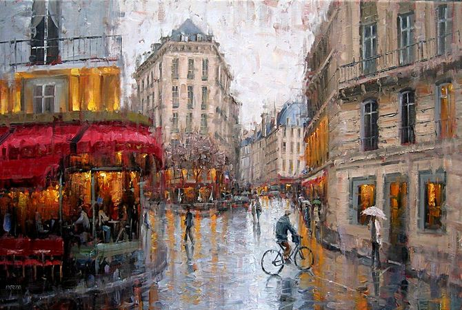 Impressionizm-E.J.Paprocki.-Kartina-vosmaya