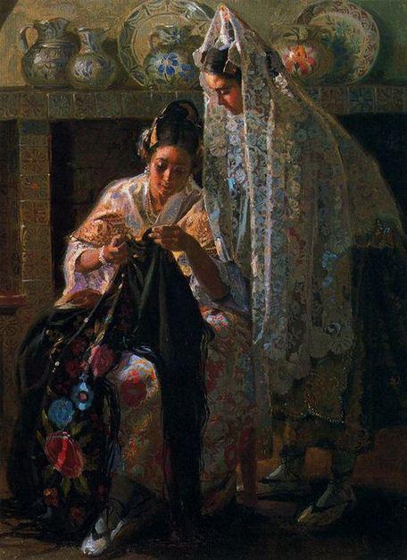 Ispanskiy-hudozhnik-Juan-Gonzalez-Alacreu.-Portretyi-maslom.-Kartina-shestaya