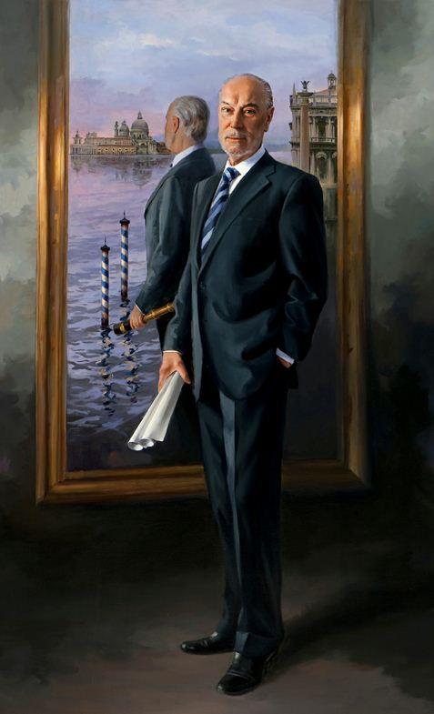 Испанский художник Ricardo Sanz. Портрет маслом седьмой