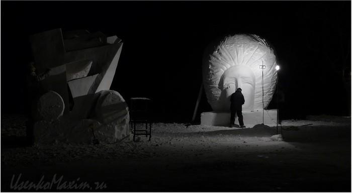Foto-Tat'jany-iz-SShA-Nochnye-snezhnye-skul'ptury