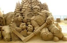 Песчаная скульптура четвертая