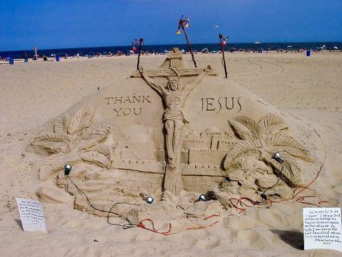 Песчаная скульптура двадцать вторая