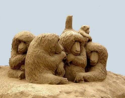 Песчаная скульптура седьмая