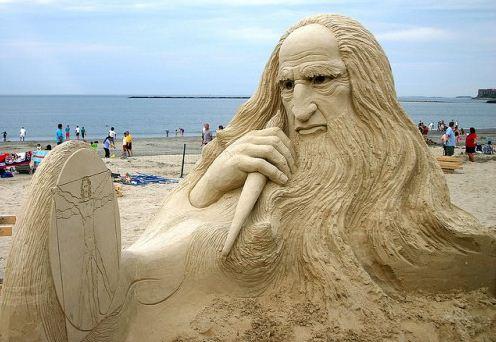 Песчаная скульптура шестнадцатая