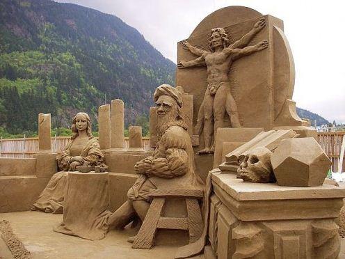 Песчаная скульптура тридцать первая
