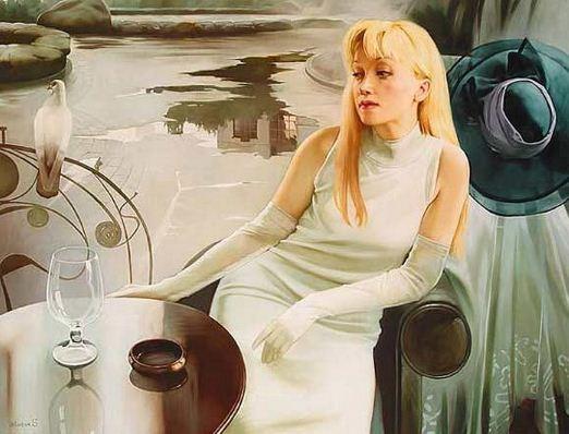 Russkaya-hudozhnitsa-Svetlana-Valueva.-ZHenskiy-obraz-v-prostranstve.-Portret-pervyiy