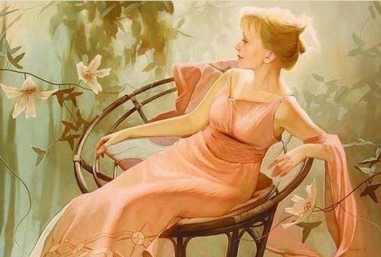 Russkaya-hudozhnitsa-Svetlana-Valueva.-ZHenskiy-obraz-v-prostranstve.-Portret-shestnadtsatyiy