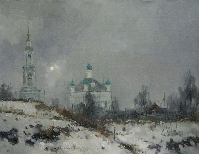Савченко Алексей. Проблеск. 40х60 холст масло