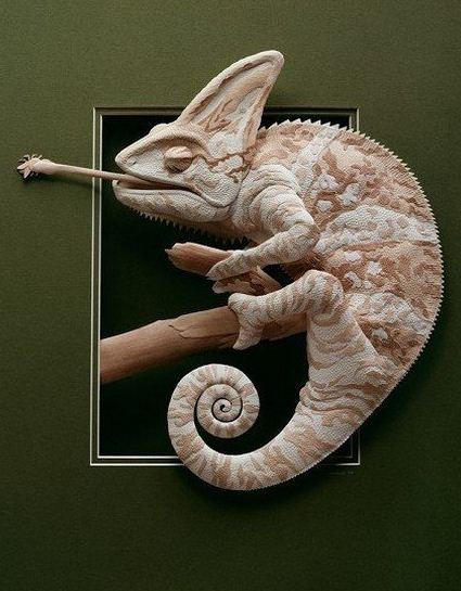 Skulptura-iz-bumagi-Calvin-Nicholls.-Animalistika-v-skulpture-devyataya