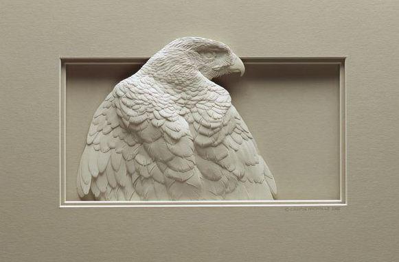 Skulptura-iz-bumagi-Calvin-Nicholls.-Animalistika-v-skulpture-dvadtsat-pervaya