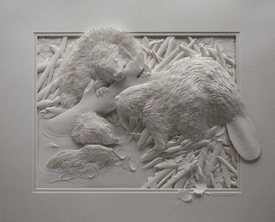 Skulptura-iz-bumagi-Calvin-Nicholls.-Animalistika-v-skulpture-dvadtsat-shestaya