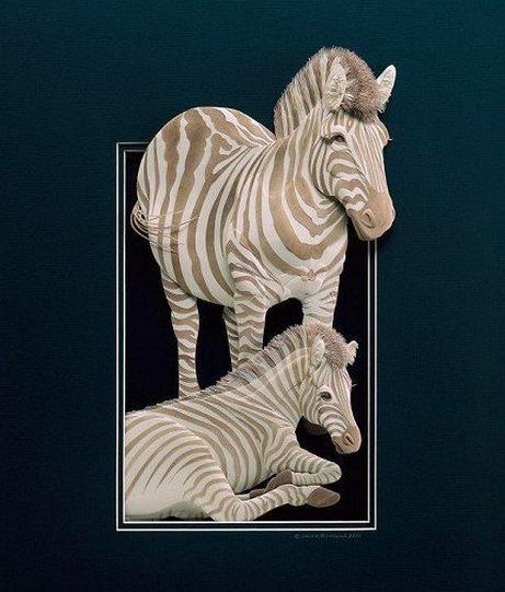 Skulptura-iz-bumagi-Calvin-Nicholls.-Animalistika-v-skulpture-dvenadtsataya