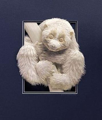 Skulptura-iz-bumagi-Calvin-Nicholls.-Animalistika-v-skulpture-pyatnadtsataya