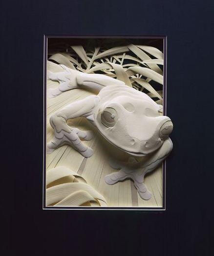 Skulptura-iz-bumagi-Calvin-Nicholls.-Animalistika-v-skulpture-shestnadtsataya