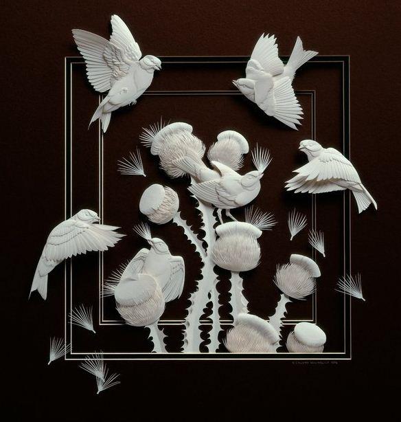 Skulptura-iz-bumagi-Calvin-Nicholls.-Animalistika-v-skulpture-vosemnadtsataya