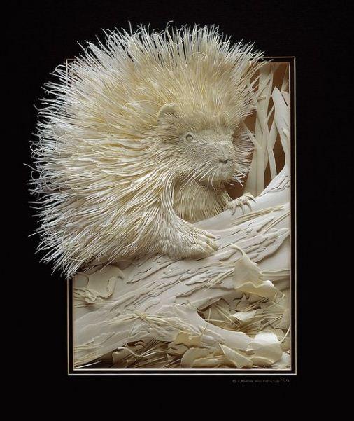 Skulptura-iz-bumagi-Calvin-Nicholls.-Animalistika-v-skulpturevtoraya