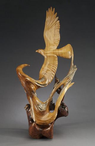 J. Christopher White.  Изящные деревянные скульптуры. Девятая