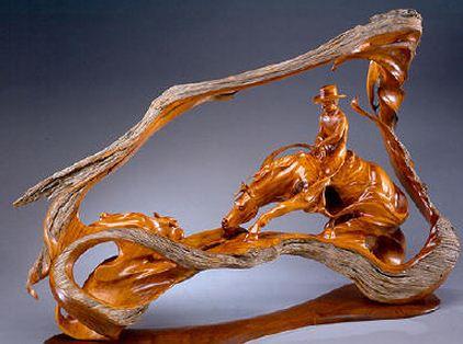J. Christopher White.  Изящные деревянные скульптуры. Двадцать первая