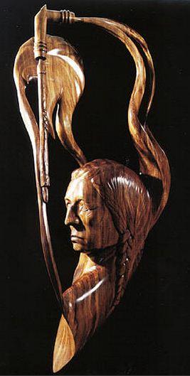 J. Christopher White.  Изящные деревянные скульптуры. Двадцать вторая