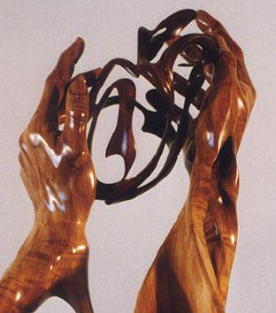 J. Christopher White.  Изящные деревянные скульптуры. Первая