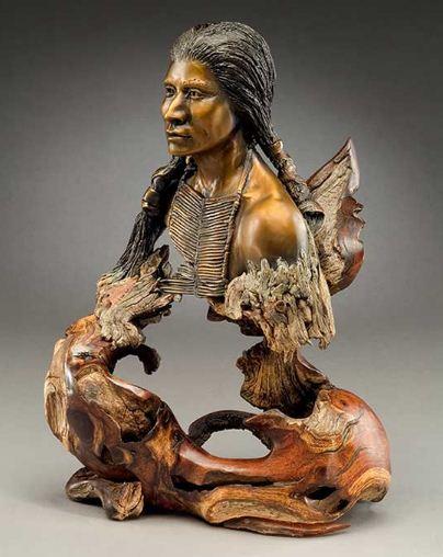 J. Christopher White.  Изящные деревянные скульптуры. Седьмая