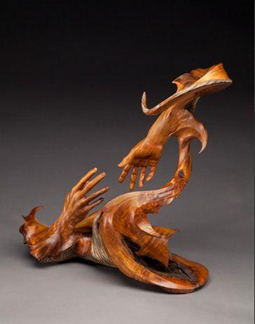 J. Christopher White.  Изящные деревянные скульптуры. Семнадцатая