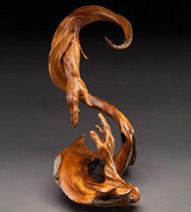 J. Christopher White.  Изящные деревянные скульптуры. Восемнадцатая