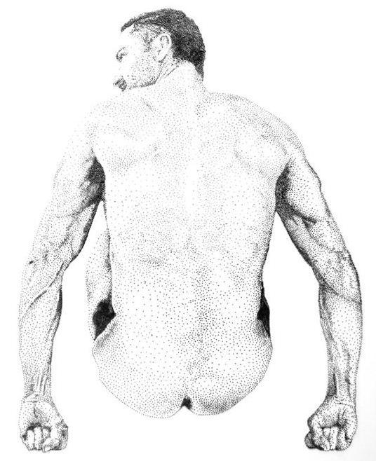 Marcus Levine. Картины из гвоздей. Третья