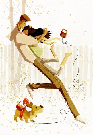 Pascal Campion. Душевные цифровые иллюстрации. Двадцать первая